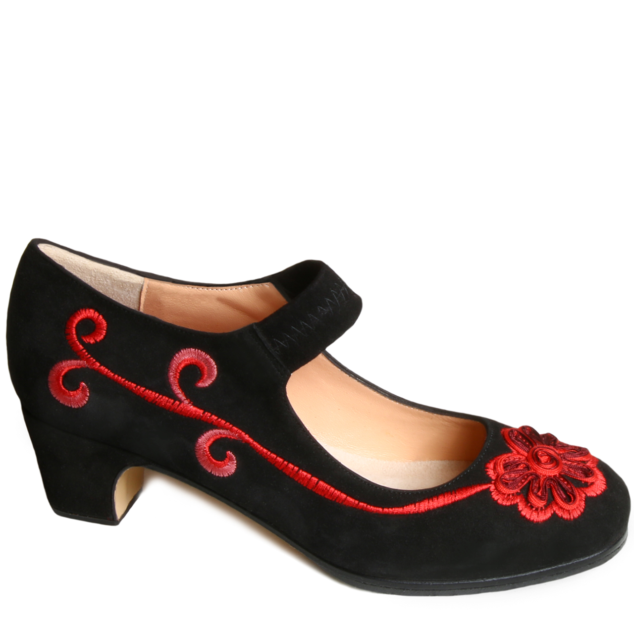Flamenco shoe Coral