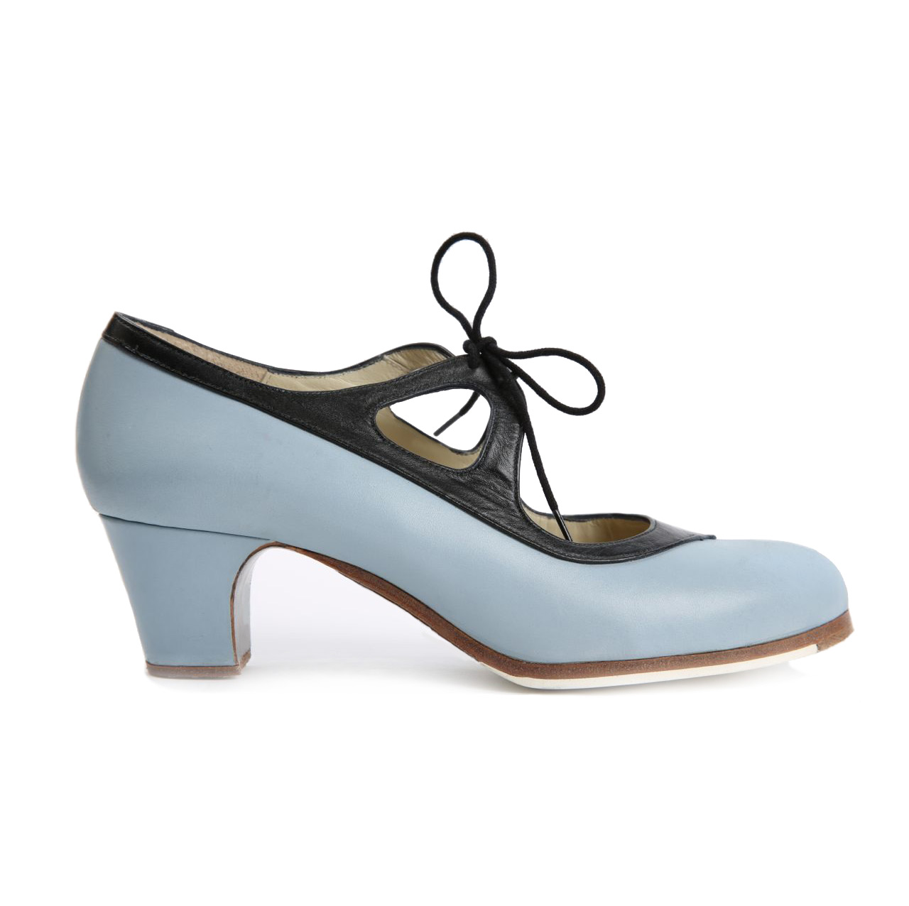 Flamenco dance Shoe Candor Blue/Black