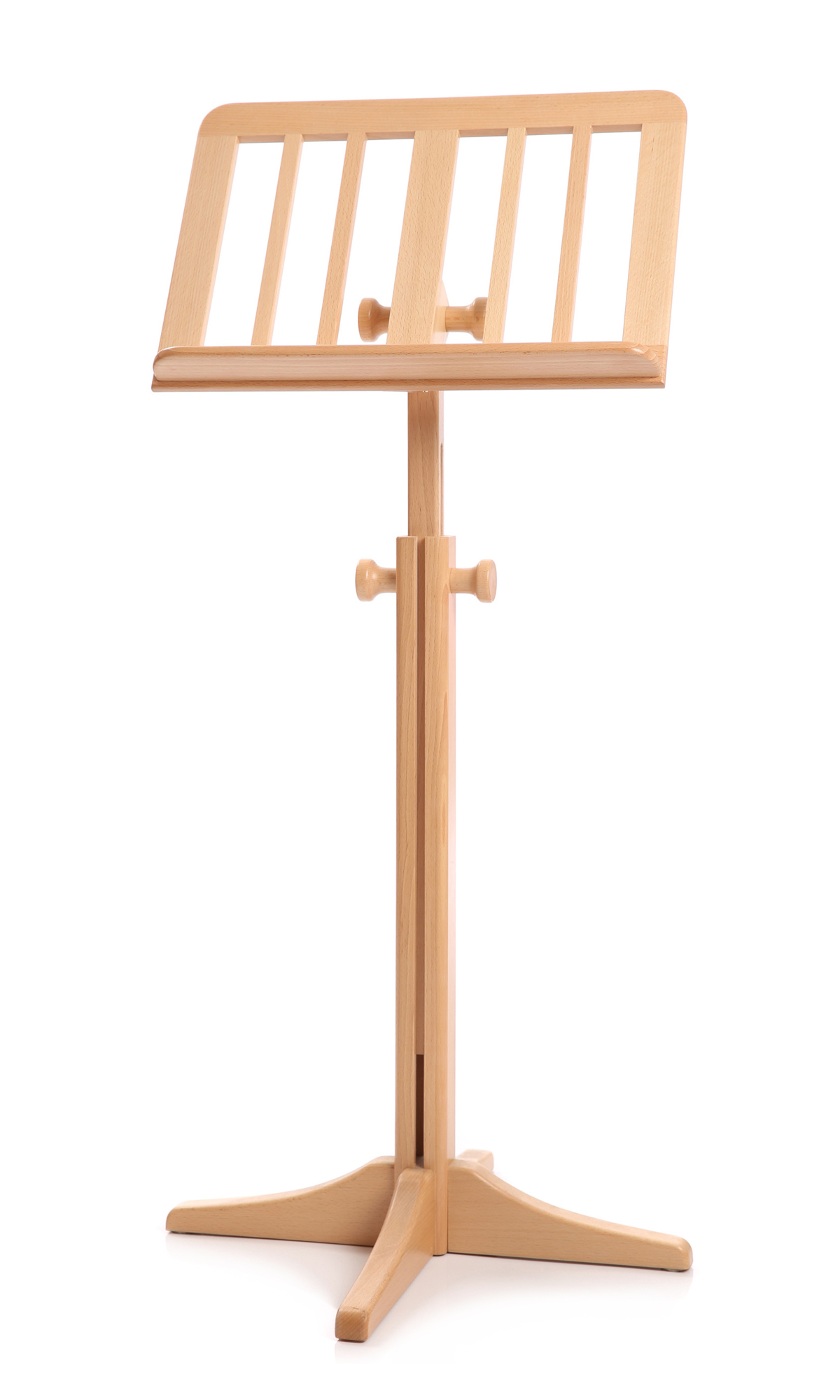 Wooden sheet music stand