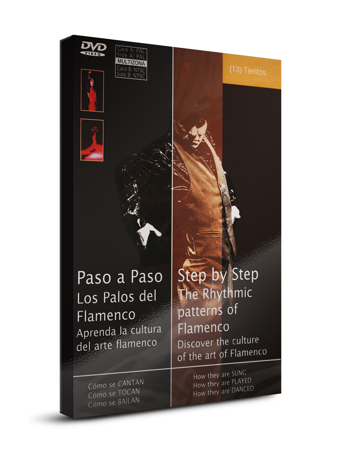 Flamenco dance classes Tientos DVD