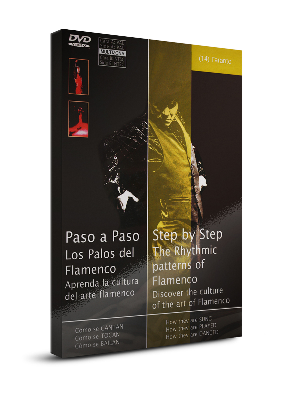 Flamenco dance classes Taranto DVD