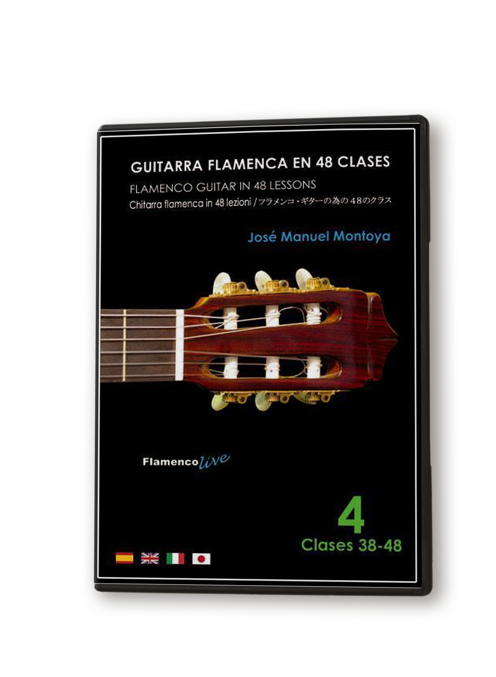 Flamenco guitar in 48 classes DVD 4