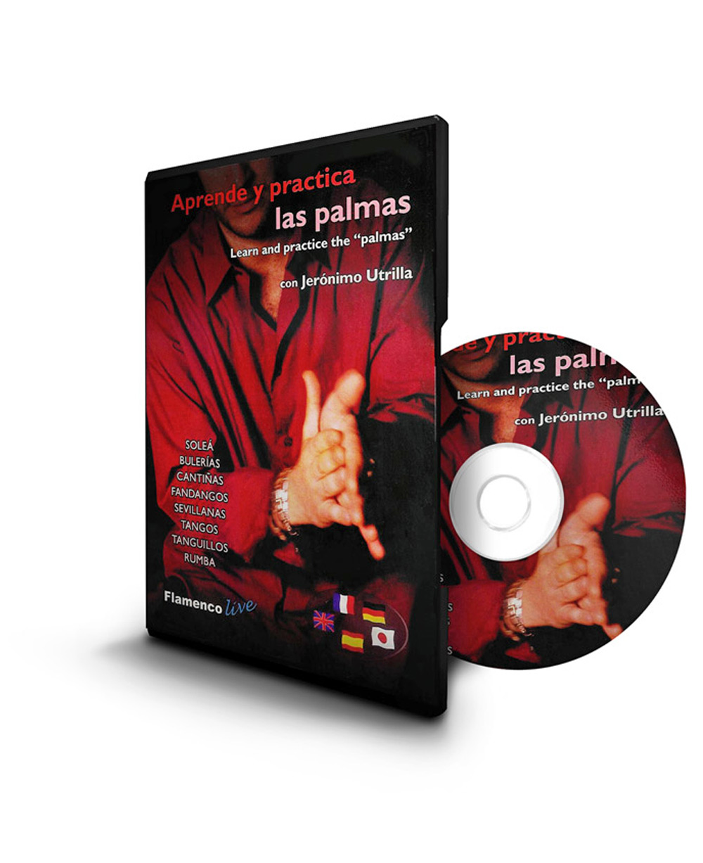 Learn and practice the palmas (DVD + Booklet)