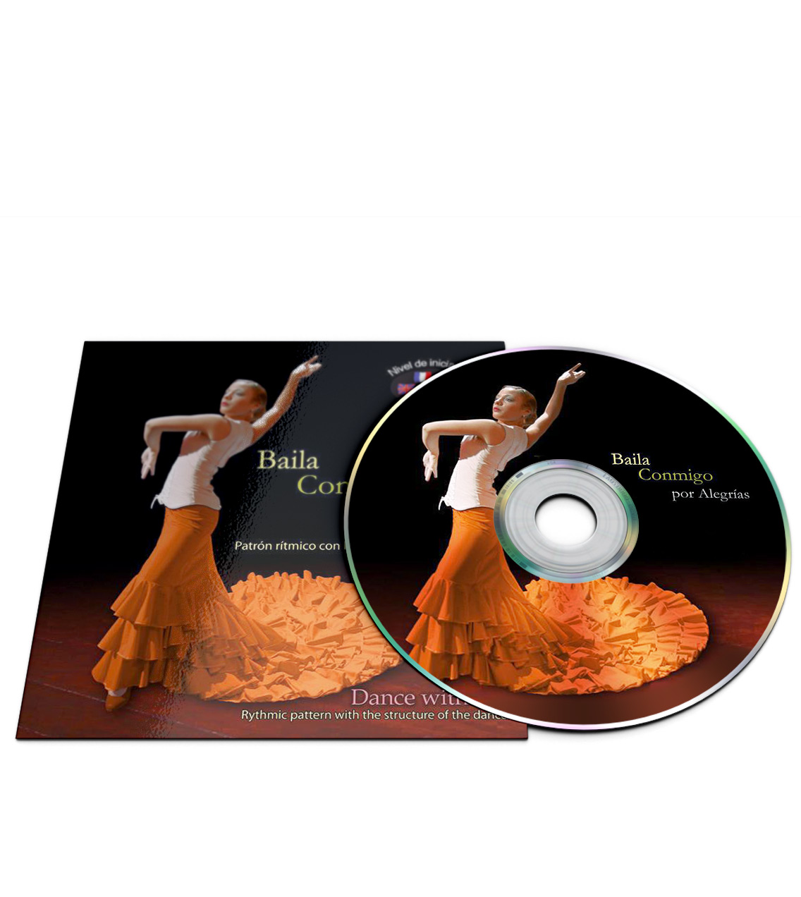 Flamenco dance CD for Alegrías