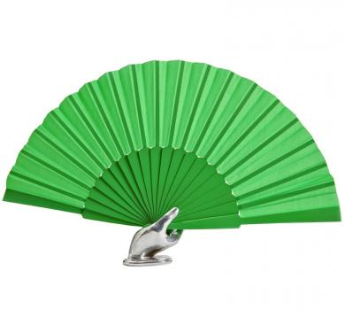 Flamenco dance fan green 31cm.