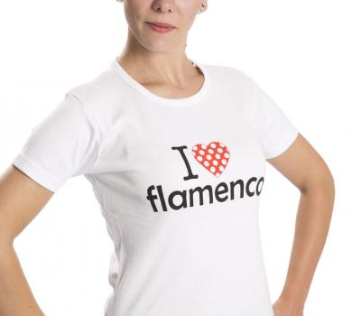 T- Shirt 'I love flamenco'