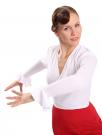Flamenco dance top white