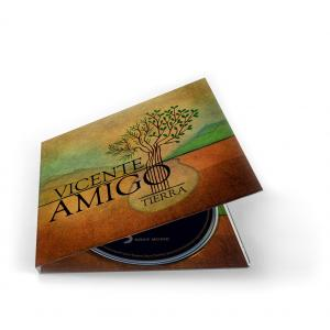 Vicente Amigo Tierra CD