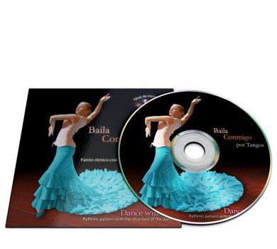 Flamenco dance CD for Tangos