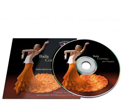 Flamenco dance CD for Alegrias