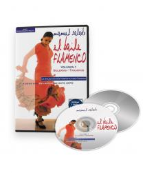 Flamenco dance classes Bulerías Tarantos DVD CD
