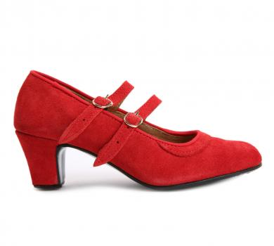 Amateurl flamenco dance shoes for beginners