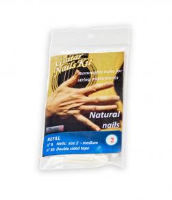 Refill average size M Natural nails