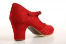 Flamenco dance Shoe Class Red