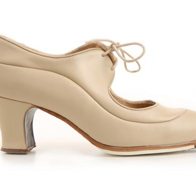Flamenco dance Shoe Angelito Beige Ca