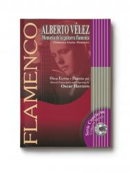 Score book + CD Alberto Velez flamenco compositions